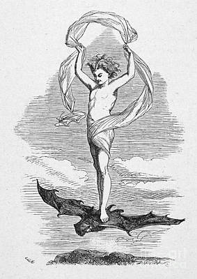 Bat Boy Photograph - Shakespeare: Tempest by Granger