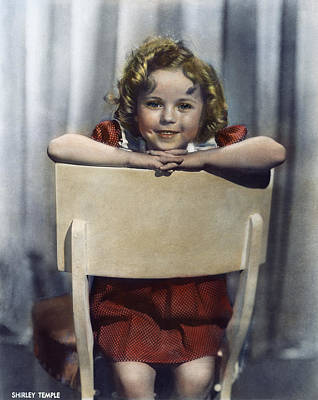 Shirley Temple (1928- ) Art Print