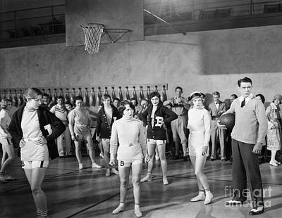 Photograph - Silent Still: Exercise by Granger