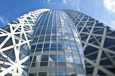 Skyscrapers In Tokyos Shinjuku Art Print by Eddy Joaquim