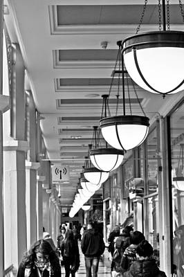 Photograph - St. Stephens Green Shopping Centre by Semmick Photo