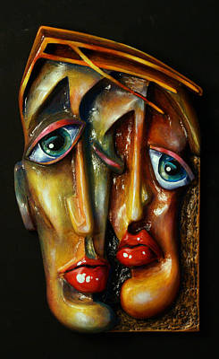 'together' Art Print by Michael Lang