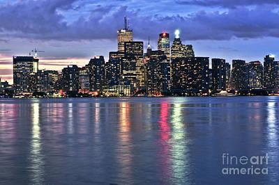 Photograph - Toronto Skyline by Elena Elisseeva