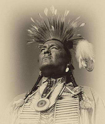 Photograph - Traditional Dancer by Robert Knight