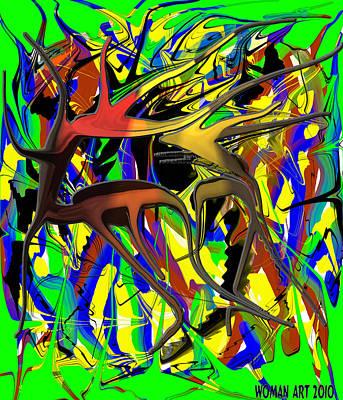 Mixed Media - Untitled by Brenda Chapman