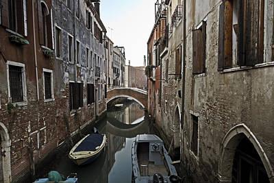 Peaceful Scene Photograph - Venice - Italy by Joana Kruse