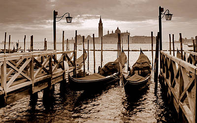 Art Print featuring the photograph Venice by Barbara Walsh