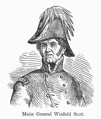 Winfield Scott (1786-1866) Art Print by Granger