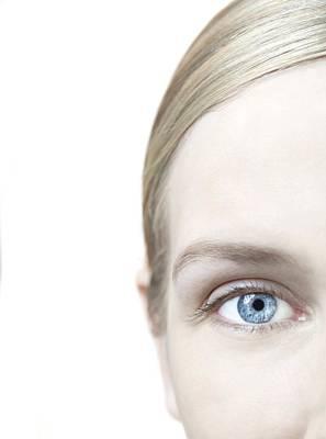 Woman's Eye Art Print by