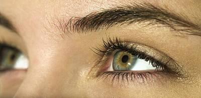 Woman's Eyes Art Print by