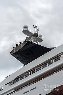 Photograph - Yacht by Jorgen Norgaard
