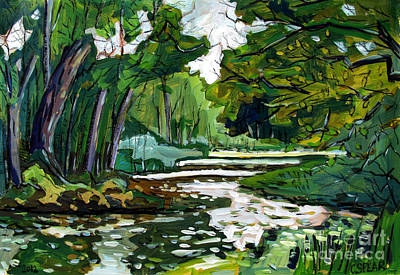 40shades Ofgreen Eel River Original by Charlie Spear