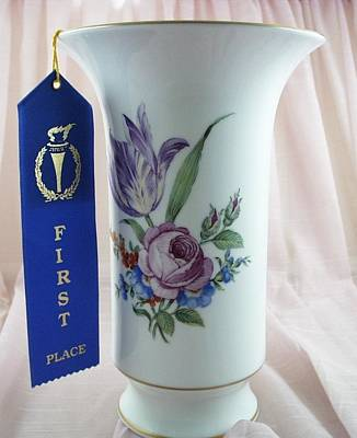 411 German Vase Berlin Style Original