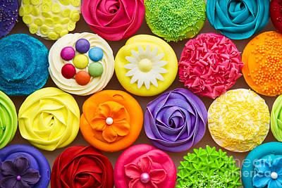 Cupcakes Art Print by Ruth Black
