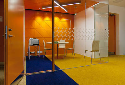 Cubicle Photograph - Healthcare College Health Care by Jaak Nilson