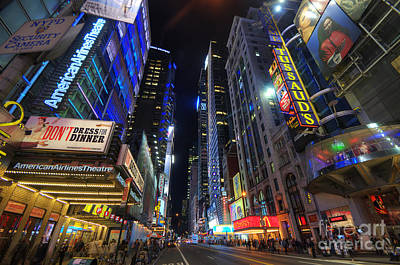 Photograph - 42nd Street - Nyc by Yhun Suarez