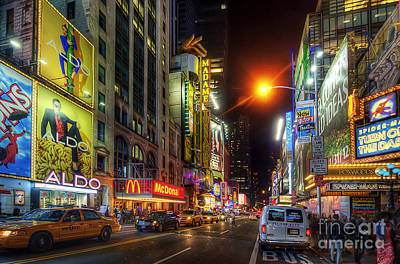 Photograph - 42nd Street Nyc 3.0 by Yhun Suarez