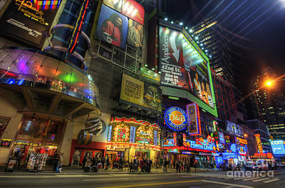 Photograph - 42nd Street Nyc by Yhun Suarez
