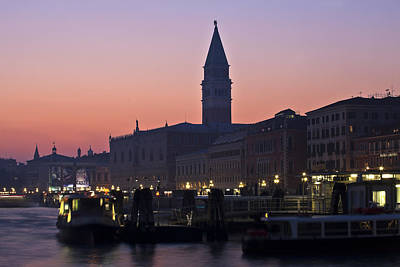 Doges Palace Photograph - Venezia by Joana Kruse