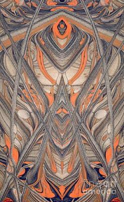 Paint Reflection Print by Odon Czintos