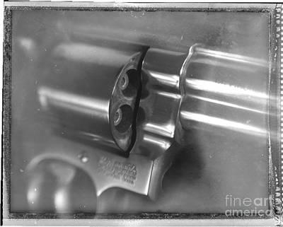 .44 Magnum Art Print by David Ricketts