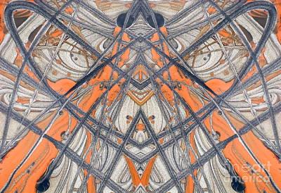 Paint Reflection Art Print by Odon Czintos