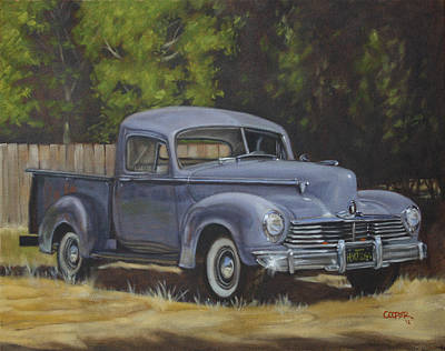 Painting - '47 Hudson by Todd Cooper