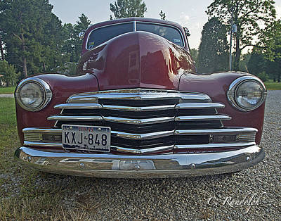 Photograph - '48 Chevy by Cheri Randolph