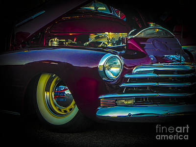 Tricked-out Cars Photograph - 49 Chevy Bad Boy by Chuck Re