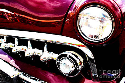 Art Print featuring the digital art 49 Ford by Tony Cooper