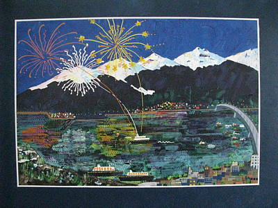 4th Of July In Juneau Alaska Art Print by Sunny Eccleston