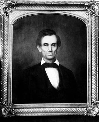 Abraham Lincoln 1809-1865, U.s Art Print by Everett