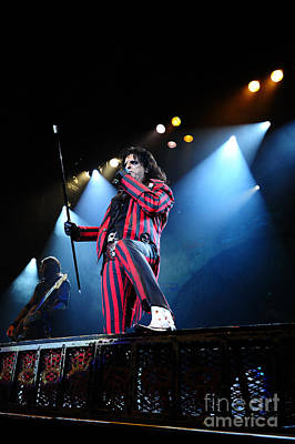 Photograph - Alice Cooper by Jenny Potter