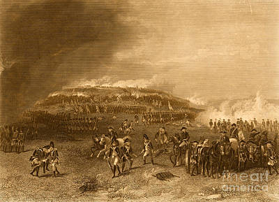 Photograph - Battle Of Bunker Hill, 1775 by Photo Researchers