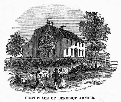 Benedict Arnold (1741-1801) Art Print