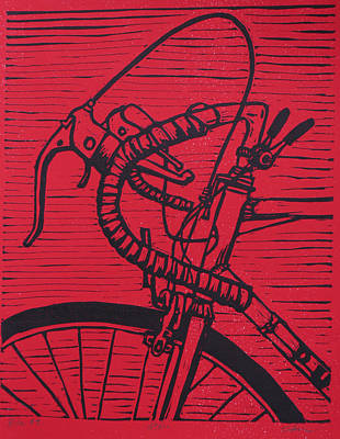 Bike 2 Art Print by William Cauthern
