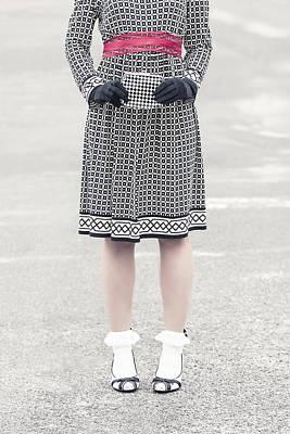 Asphalt Photograph - Black And White by Joana Kruse