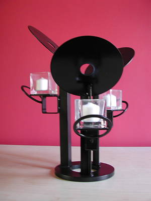 Sculpture - Candle Holder Model 9 by John Gibbs