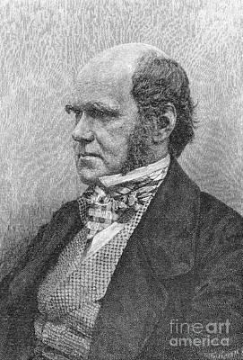 Charles Robert Darwin Art Print by Granger