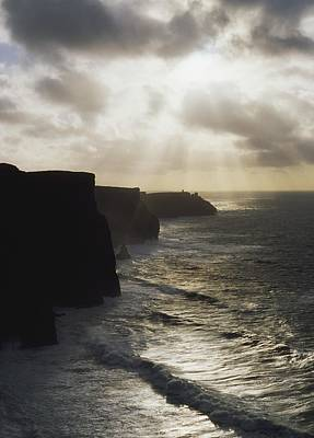 The Sea Of Tranquility Photograph - Cliffs Of Moher, Co Clare, Ireland by The Irish Image Collection