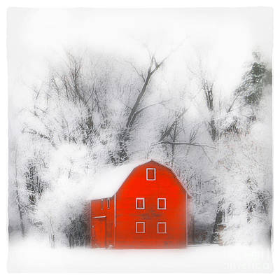 Country Winter Original by Gina Signore