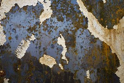 Background And Textures Photograph - Detail Of Burnt Building by David Chapman