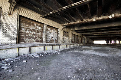 Detroit Abandoned Building Art Print by Joe Gee