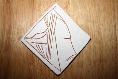 African Ceramicist Ceramic Art - Dreams - Tile by Gloria Ssali