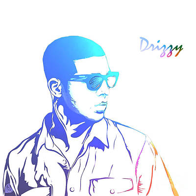 Drizzy  Art Print by The DigArtisT