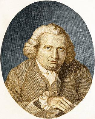 Erasmus Darwin, English Polymath Art Print by Science Source