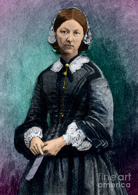 Florence Nightingale, English Nurse Art Print by Science Source