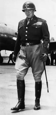 General George S. Patton Jr. 1885-1945 Art Print by Everett