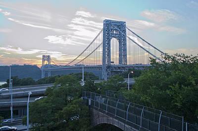 Photograph - George Washington Bridge by Theodore Jones
