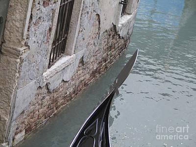 Gondola. Venice Art Print by Bernard Jaubert